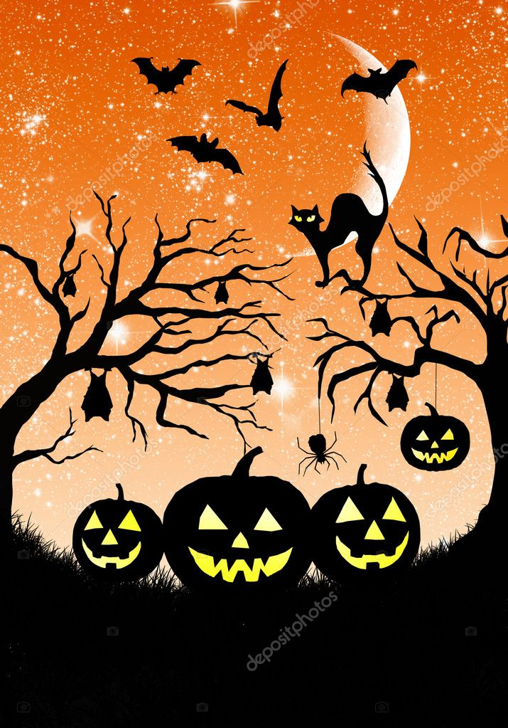 Halloween illustration  Stock Photo #12651022