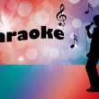 Royalty-Free Stock Photo: Karaoke
