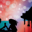 Piano bar — Stock Photo #12683592