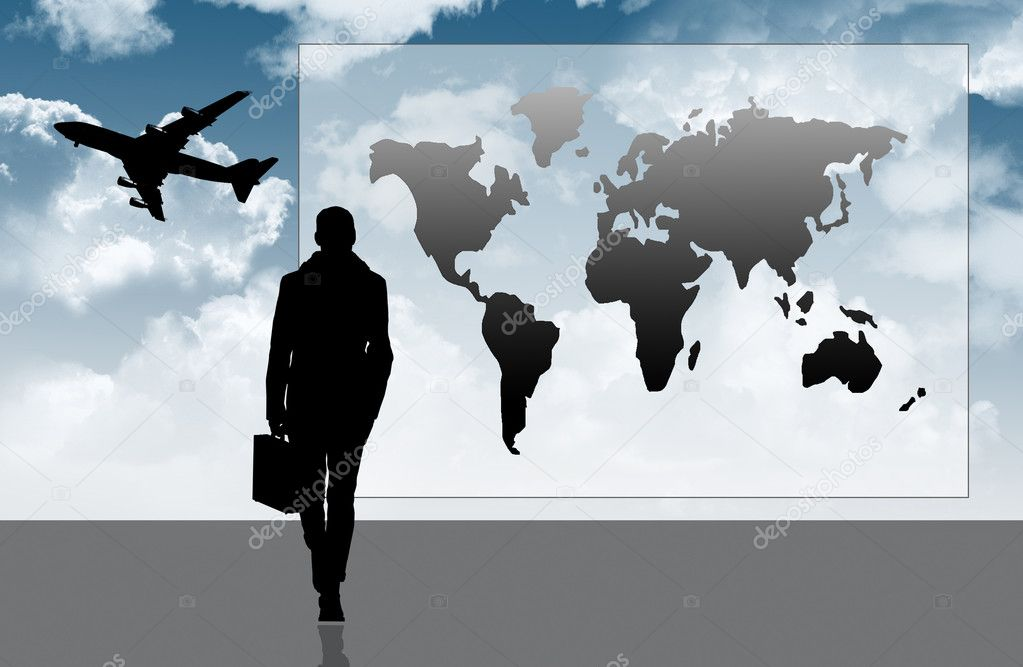 Traveling business — Stock Photo #12716778