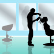 Stock Photo: Hairdresser