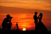 Wedding photographer — Stock Photo