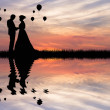 Just married — Stockfoto #13597128