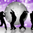 Dancing in disco — Stock Photo #13850158