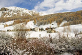 Livigno lake — Foto de Stock