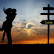 Way of love - Stockfoto