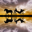 Carriage ride — Stock Photo