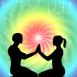 Tantric love — Stock Photo