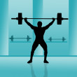 Weightlifting — Stock Photo