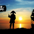 Stock Photo: Pirates