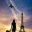 Stock Photo: Trip to Paris