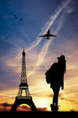 Trip to Paris — Stock Photo
