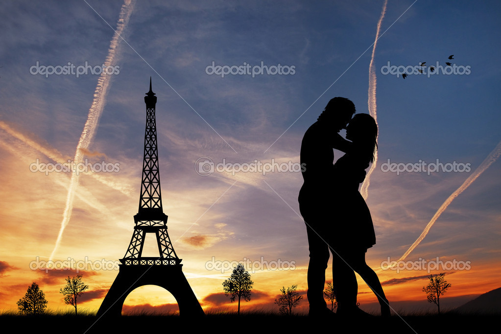 Romance in Paris — Stock Photo #18366823