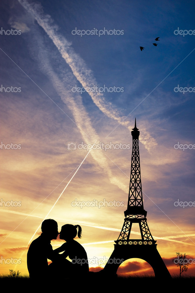 Romance in Paris — Stock Photo #18366945