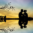 Stock Photo: Couples in love