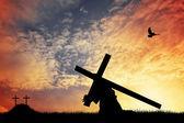 Jesus cross — Stock Photo