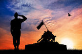 War memorial — Stock Photo