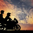 Royalty-Free Stock Photo: Motorcyclists