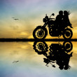 Motorcyclists — Stock Photo #19076659