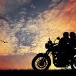 Motorcyclists — Stock Photo #19076713