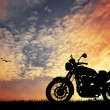 Royalty-Free Stock Photo: Motorcycle