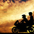 Motorcyclists — Stock Photo