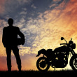 Royalty-Free Stock Photo: Motorcyclist