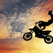 Freestyle motocross — Foto Stock