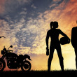 Motorcyclists — Stock Photo #19078861