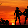 Motorcyclists — Stock Photo #19079059