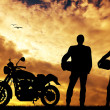 Motorcyclists — Stock Photo #19079351