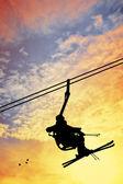 Skilift — Stockfoto