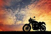 Motocicleta — Fotografia Stock