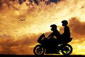 Motorcyclists — Stock fotografie
