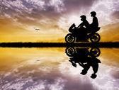 Motorcyclists — Stock Photo