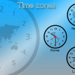 Time zones — Stock Photo #20008269