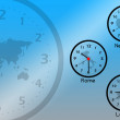 Time zones — Stock Photo #20008311