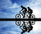 Tandem — Stock Photo
