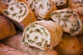 Olive bread — Stock Photo