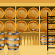 Wine barrels — Stock Photo #22005393