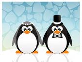 Penguins in love — Stock Photo