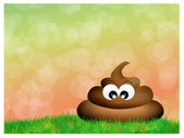 Stinky poop — Stock Photo
