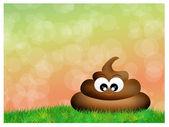 Stinky poop — Stock Photo