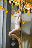 Crucifix in the Sagrada Familia — Stock Photo