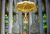 Sagrada Família inside — Stock Photo