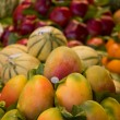 Fresh fruit in the market — Stock Photo