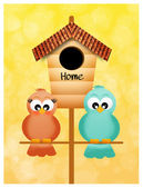 Birdhouse — Foto Stock