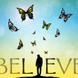 Stock Photo: Believe