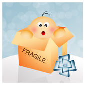 Fragile box — Stock Photo