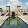 Comacchio, Ferrara, Italy — Stock Photo #26449559